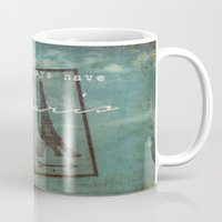 casablanca Mugs featuring Paris by Sybille Sterk