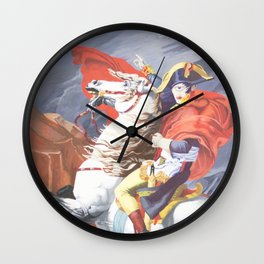 Crossing the St. Bernard II Wall Clock