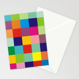 Color block no.1 Stationery Cards