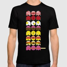 nom nom nom nom nom nom nom ... nom MEDIUM Black Mens Fitted Tee