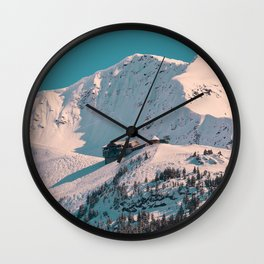 Mt. Alyeska Ski Resort - Alaska Wall Clock