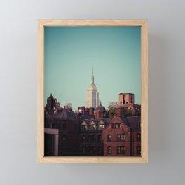 Empire - NYC Framed Mini Art Print