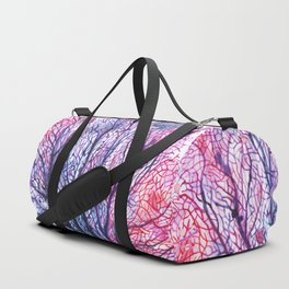 Fan Coral - Purple Duffle Bag