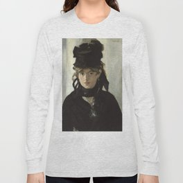 Edouard Manet - Young woman in a black hat Long Sleeve T-shirt