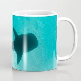 Whale shark silhouette Coffee Mug