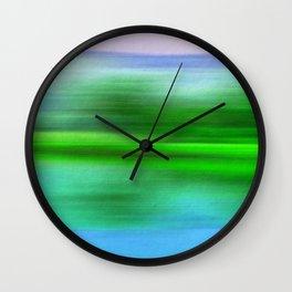 EARTH POEM Wall Clock