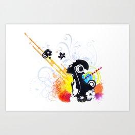 Feel Music Art Print