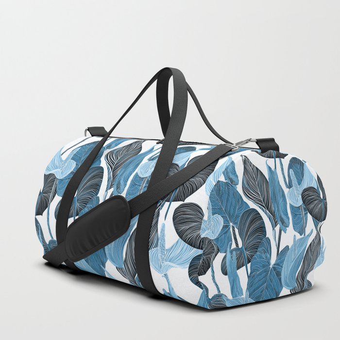 Lush Lily - chambray Duffle Bag