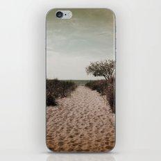 Beach Path iPhone Skin