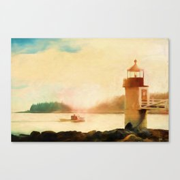 A Day In Maine Canvas Print