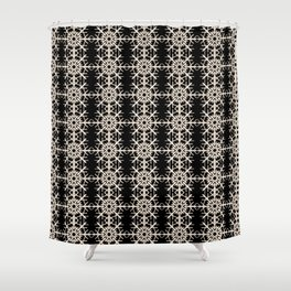 French-American pattern Shower Curtain