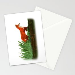 Emerging fox Stationery Cards