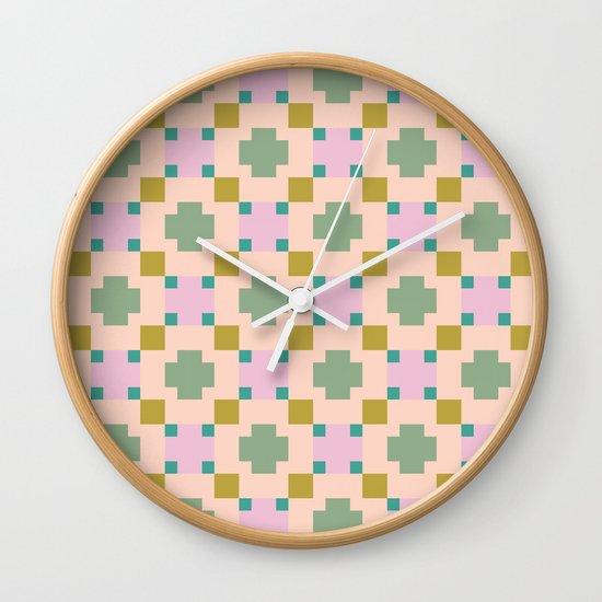 Double-crossed Wall Clock