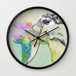 Ghost in the Stone #3 Wall Clock