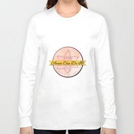 Anna Can Do It! Mug Design Long Sleeve T-shirt