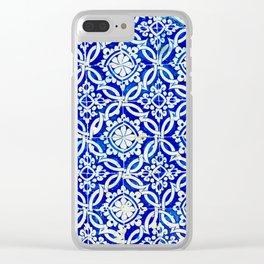 Azulejo Clear iPhone Case