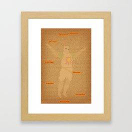 Solaire the Sunbro Framed Art Print