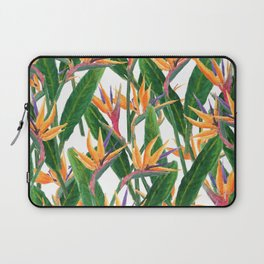 bird of paradise pattern Laptop Sleeve