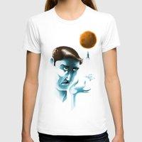 lunar T-shirts featuring Lunar dream by Janne Harju