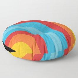 Retro Design Floor Pillow