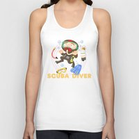scuba Tank Tops featuring Scuba dive by Alapapaju