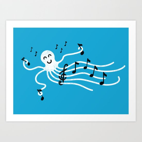 Under the C (Major) Art Print