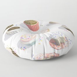 I Like Cupcakes Floor Pillow