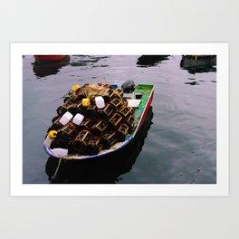 let's go boating Art Print