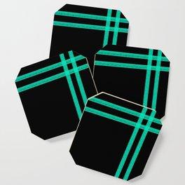 Mint Strip Coaster