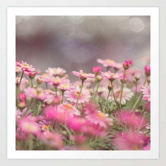 Dreaming of Flowers Art Print