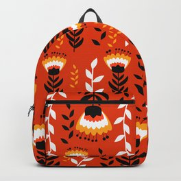 Bright floral decor Backpack
