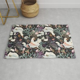 Feathered friends Rug