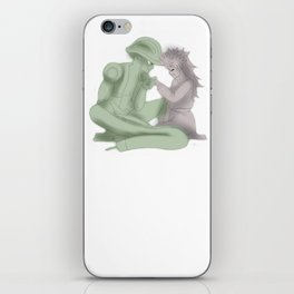 King's Love iPhone Skin
