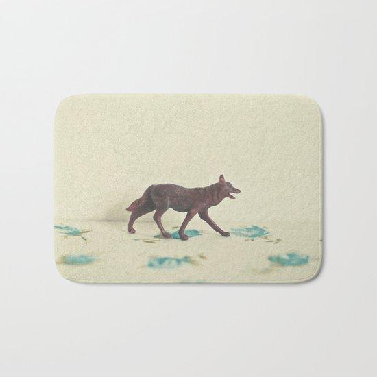 Wandering Wolf Bath Mat