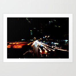 BY-PASS_NY 07 Art Print