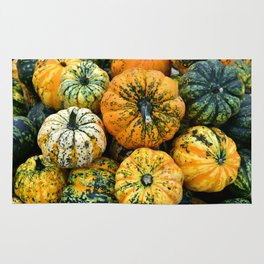 Decorative Pumpkins Rug