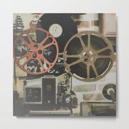 Vintage Film Metal Print