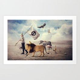 Road to Refuge Art Print