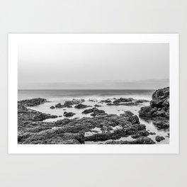 Monochrome Landscape Art Print