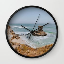 california coast vii / santa cruz, california Wall Clock