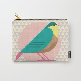 cute bird illustration Carry-All Pouch