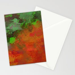 A Difference Of Opinion (Abstract painting) Stationery Cards