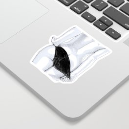 Night Bird Sticker