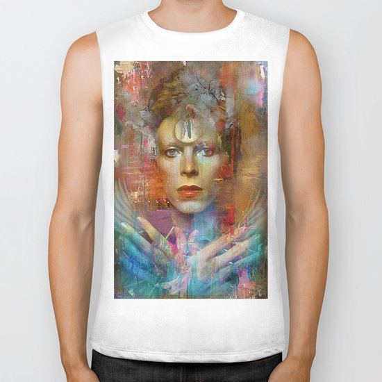 Ziggy in the sky  Biker Tank