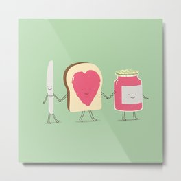 spread the love Metal Print