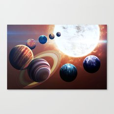 Space Players Canvas Print