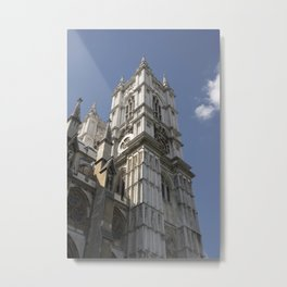Westminister Abbey Tower Metal Print