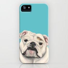 Sweet Little English Bulldog iPhone Case