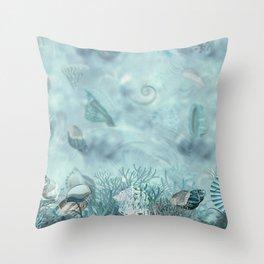 Sea shells Composition  1 Throw Pillow