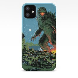 Godzilla - Blue Edition iPhone Case